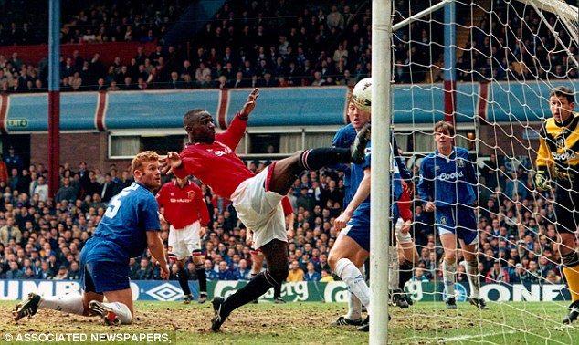 Andy Cole FA cup semi final vs Chelsea