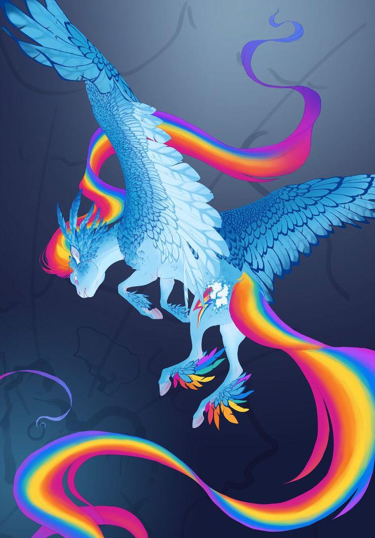 Extra Rainbow Rainbow Dash WIP by turnipBerry.deviantart.com on @DeviantArt