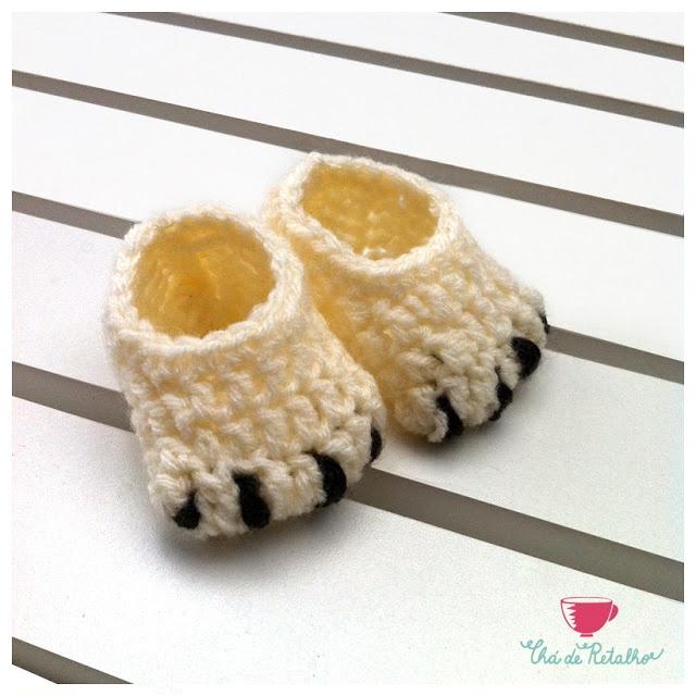 slipper crochet