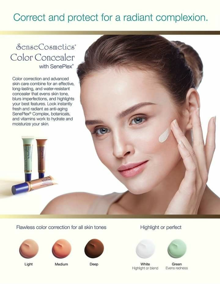 green correcting concealer