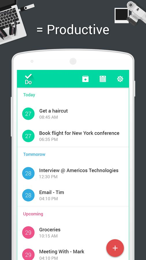 .Do - Task List & To-do Lists – Mobile app by Americos Tech