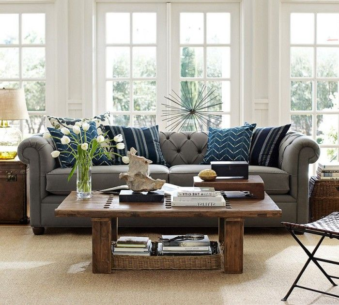 164 best amazing decor images on pinterest decorating for Pottery barn style living room ideas