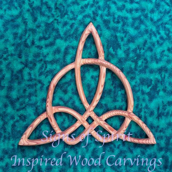 """MEANING: One definition of Harmony is, """"The just adaptation of parts to each other in a system or combination of things intended to form a connected whole to produce unity."""" This is a variation of the original Triquetra Knot that represents the Aspects of the ancient Celtic Goddess or the Christian Holy Trinity. In the Triquetra Knot, the outer ring is separate but woven thru the 3 aspects, putting them into a relationship. In the Harmony Knot, the outer ring has been adapted into the…"""