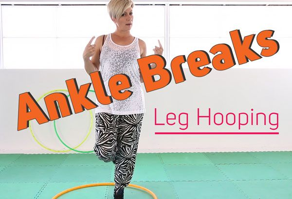 Ankle Breaks - What to Do When You Drop Your Hoop - Learn How to Hula Hoop