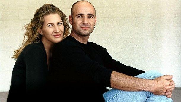 Steffi Graf Verrat Ihr Liebesgeheimnis Steffi Graf Andre Agassi Gluckliche Ehe