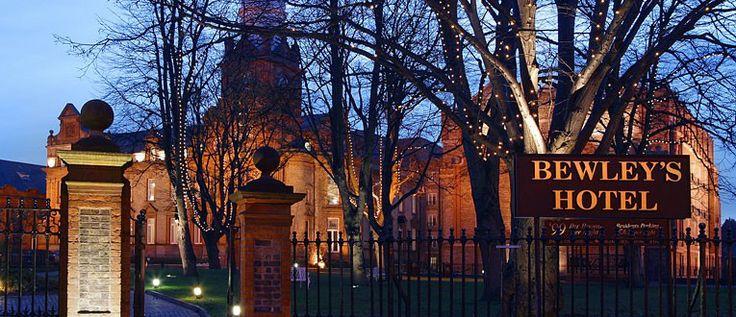 Hotel we stayed at in Dublin. Bewley's Ballsbridge. A former girls school.