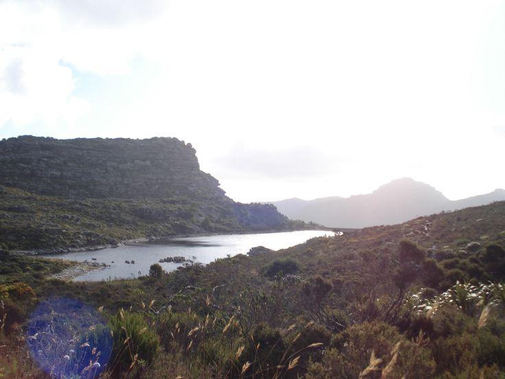 De Villiers Dam seen in the distance.