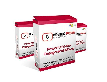 WP Video Press is a new wordpress plugin that will allow you to take full control of your videos viewers with powerful engagement effects and easily boost your conversions by 250%.