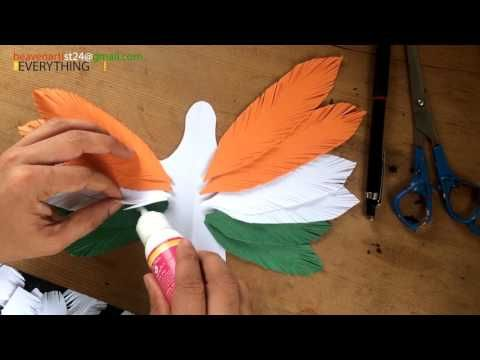 How to make Greeting Cards - Independence Day/Republic Day Greeting Cards - YouTube