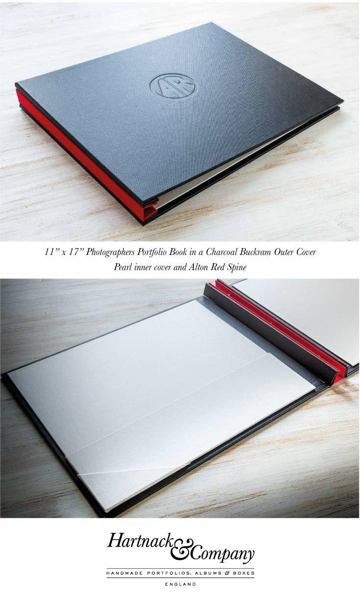Leather portfolio cases business portfolios folders embossed with - X Landscape Photographers Print Portfolio
