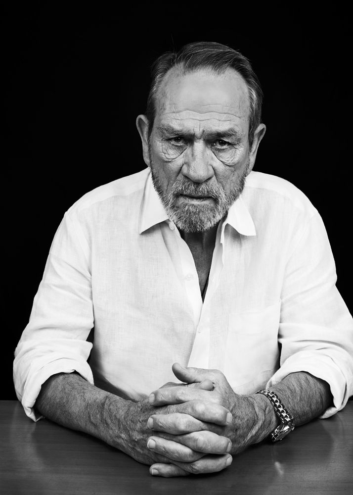 Tommy Lee Jones. Bags are for carrying Tommy, not for wearing under your eyes