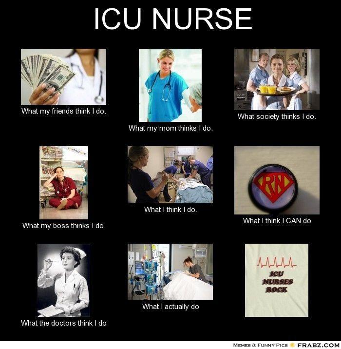 Er Nurse Meme Funny : How nurses view themselves icu rn