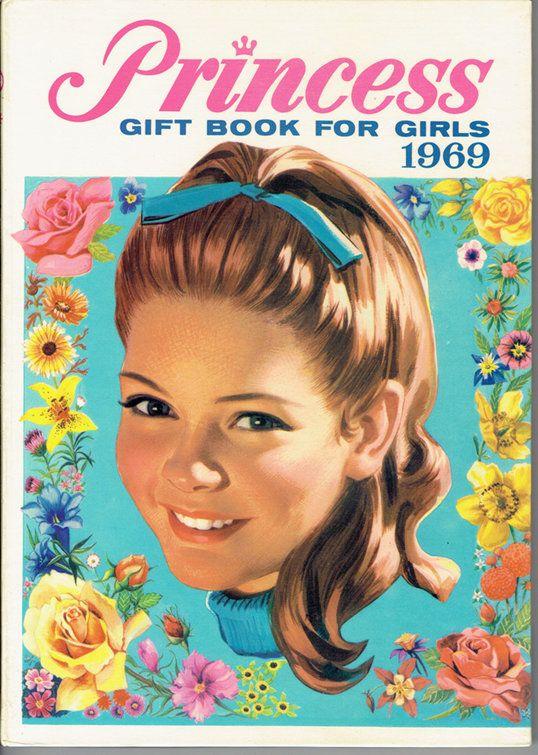 VINTAGE TREASURE - Princess Gift Book for Girls