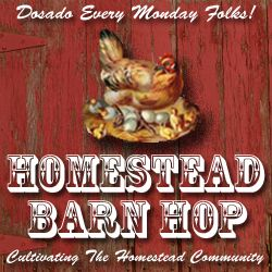 The weekly Homestead Barn Hop hosted at The Prairie Homestead-- more homesteading info than you can shake a stick at! :)