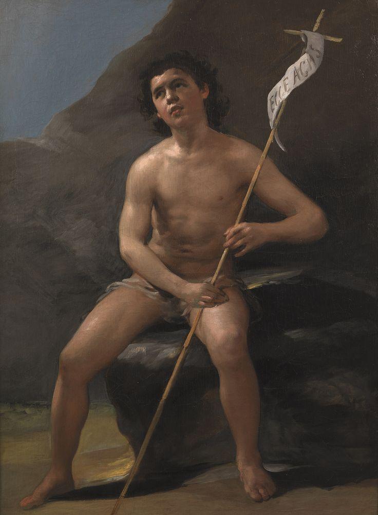 Francisco Goya (1746-1828), Saint John the Baptist as a Child in the Desert, ca.1810, Prado Museum, Madrid