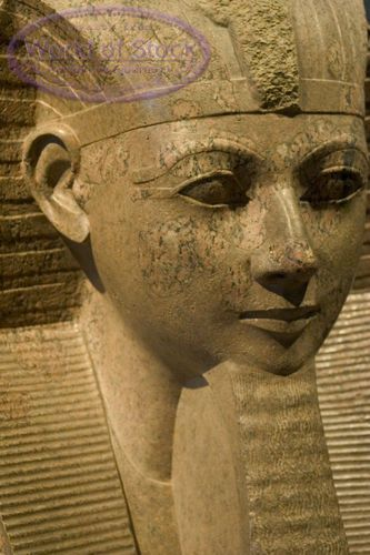 Egyptian Sculpture (not sure, but looks like an Hatshepsut sculpture to me. Photo not labeled with name.)