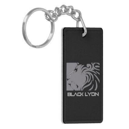 lll 1 black cofee studios 3 keychain - personalize design idea new special custom diy or cyo