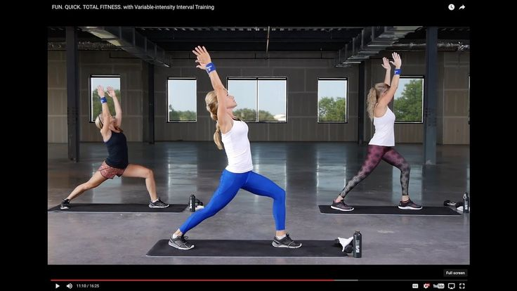 FUN. QUICK. TOTAL FITNESS. with Variable-intensity Interval Training - YouTube