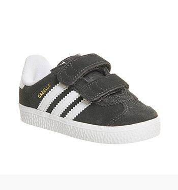 Adidas Gazelle 2 Infant Solid Grey White - Unisex