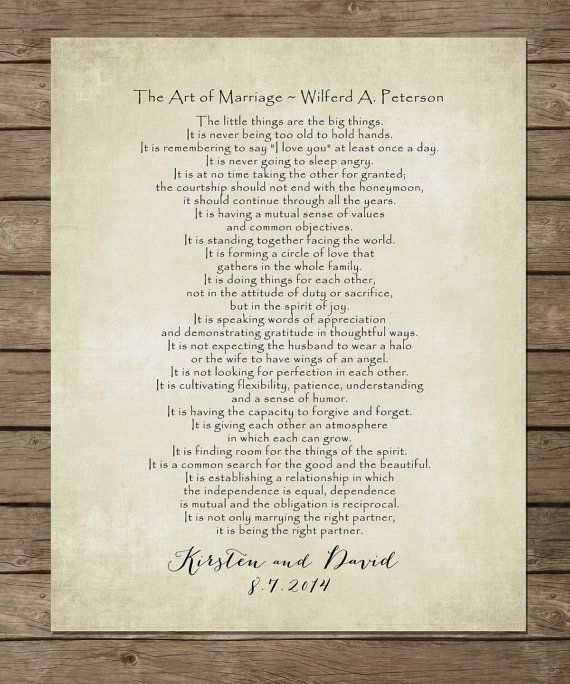 25+ Best Ideas About Marriage Poems On Pinterest