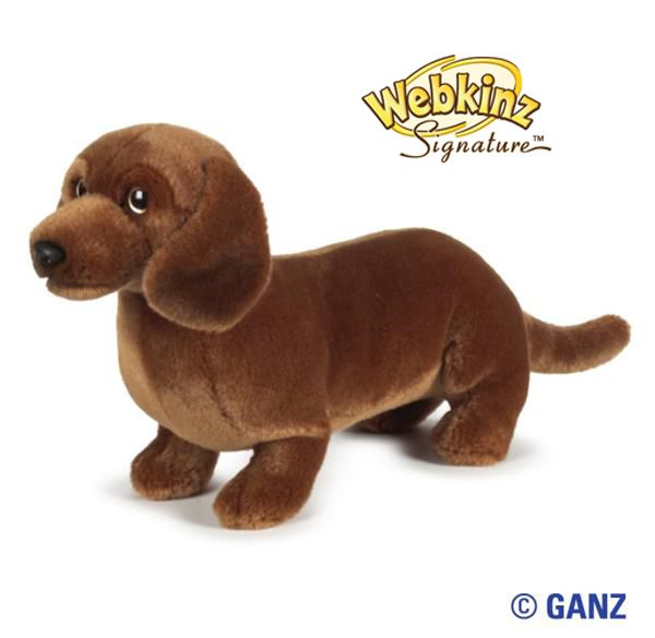 Webkinz Signature Miniature Dachshund $24.95
