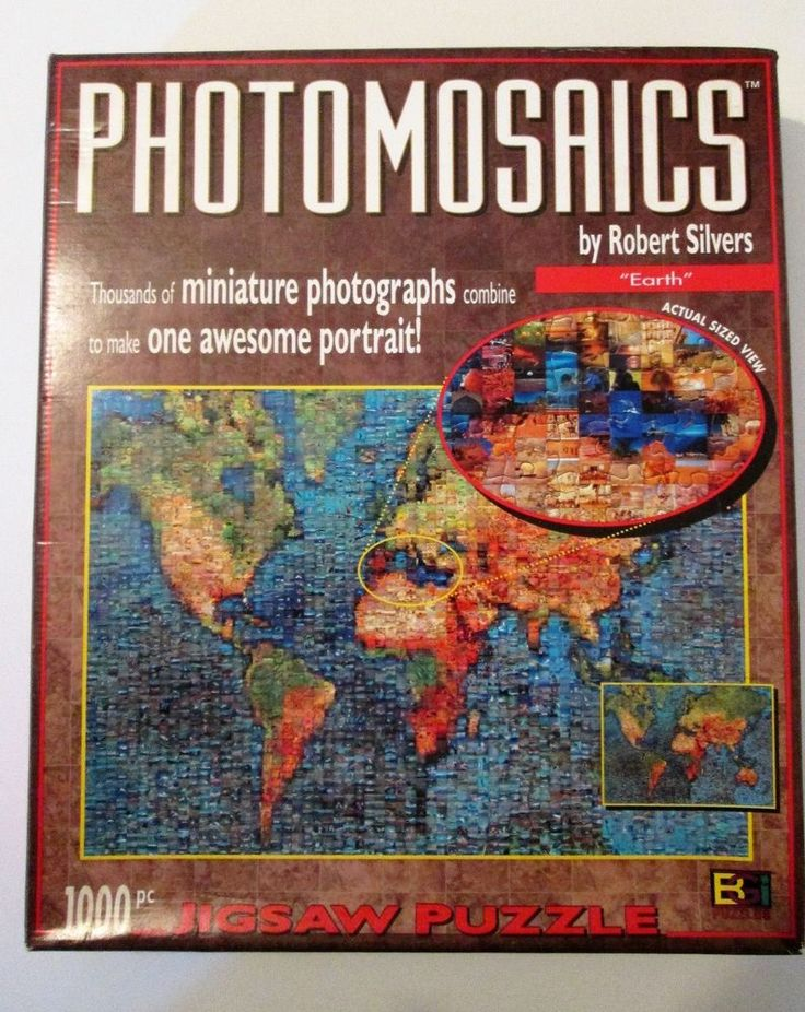 Photomosaics Jigsaw Puzzle 1026 Pieces Earth By