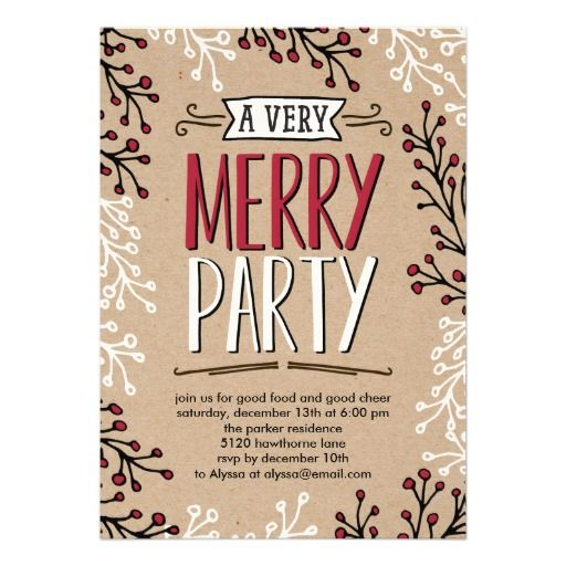 478 best images about Christmas Holiday Party Invitations – Holiday Party Invitation Ideas
