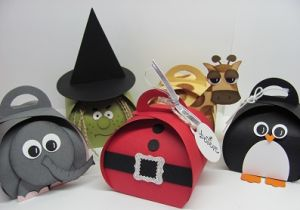 Inspiration curvy keepsake puffy bubble box santa penguin giraffe witch elephant and more VIDEO