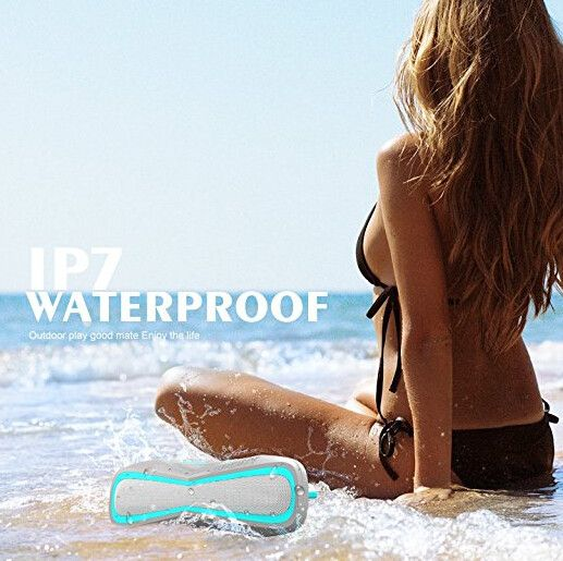 $25.99 with code XRHHI89L Beach Bluetooth Speaker | Bluetooth Speaker | Pinterest | Waterproof bluetooth speaker, Bluetooth speakers and Wireless speakers