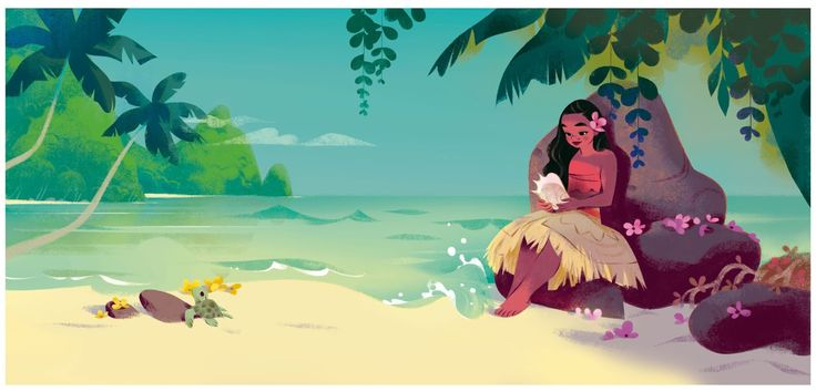 """ Moana and the Ocean "" écrit par / written by Heather Knowles  Disney press - 2016"