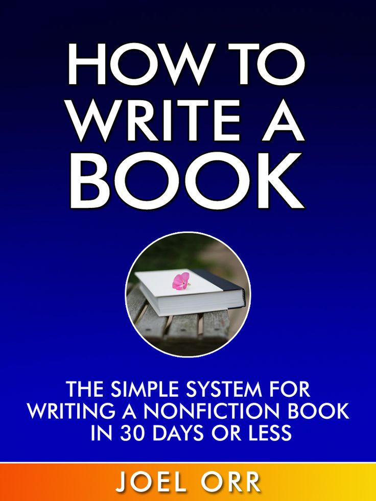 Before writing a book