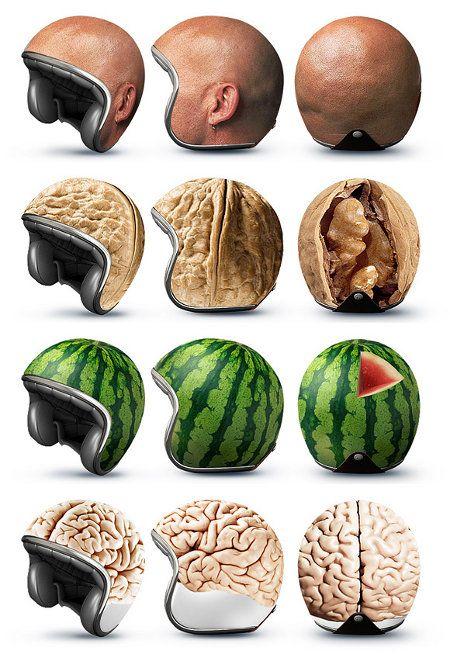 Safety Second: Novelty Motorcycle Helmets