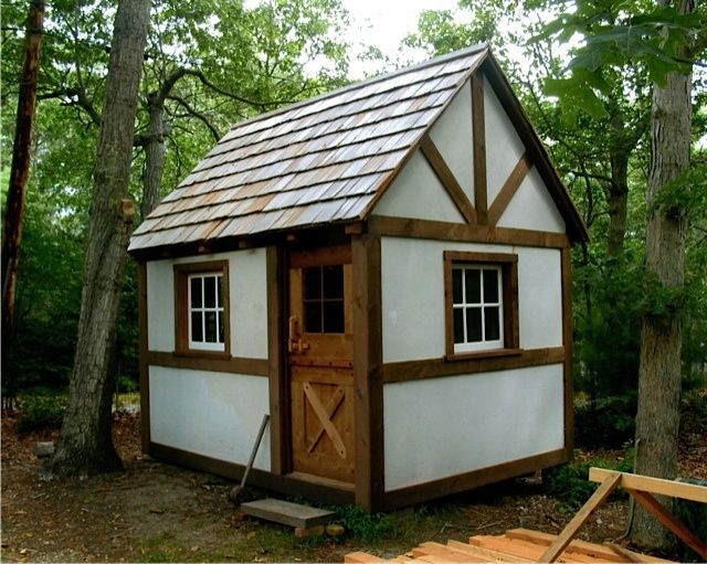 Tiny Homes | ... timber-framed cottage/cabin/tiny house from David and Jeanie Stiles