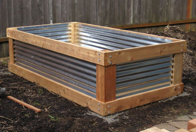 20 Amazing DIY Raised Bed Gardens - A Piece Of Rainbow