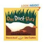 """Picture books are an effective way to teach growing pattern lessons in kindergarten. Teaching math skills using the book, """"One Duck Stuck,"""" by Phyllis Root can help to introduce numerical patterns to young children."""