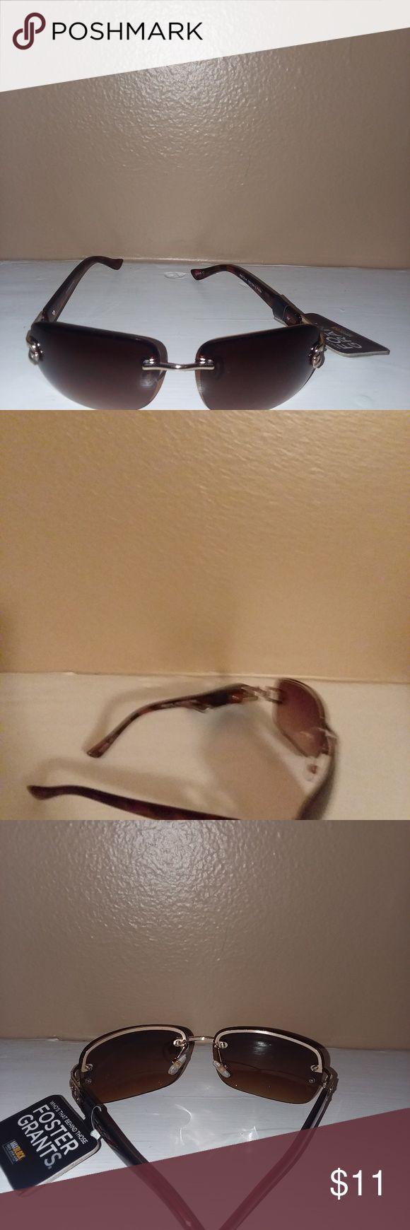 Foster Grant Sunglasses Foster Grant Max Block 100% UVA protection.  Comfortable fit new with tag. Foster Grant Accessories Sunglasses