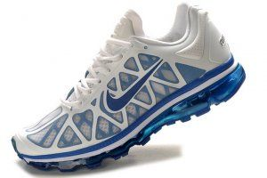 Cheap New Nike Air Max 2011 White Blue Black Men Shoes 8592111 #good for sports #fashion #nice #comfortable #men's shoes