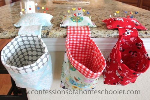 Good morning! I hope you are all ready for a home economics lesson today because I'm sharing a tutorial for an easy thread catcher. My girls each made one for their new sewing machines and I made one too! So what is a thread catcher? It's basically a super cute trash can with a weighted…Read More