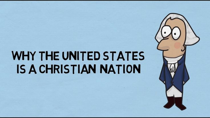 an argument on the united states of america as a christian nation America's changing religious landscape enabling an assessment of the religious composition not just of the nation christian adults in the united states.