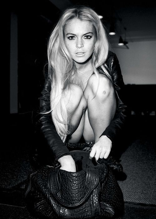 Lindsay Lohan....what can I say love her even though she's a train wreck