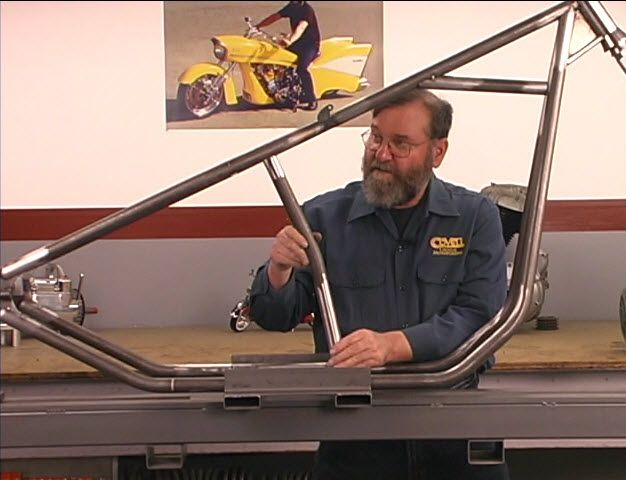 Details on how to build a chopper frame from the ground up and with step by step…