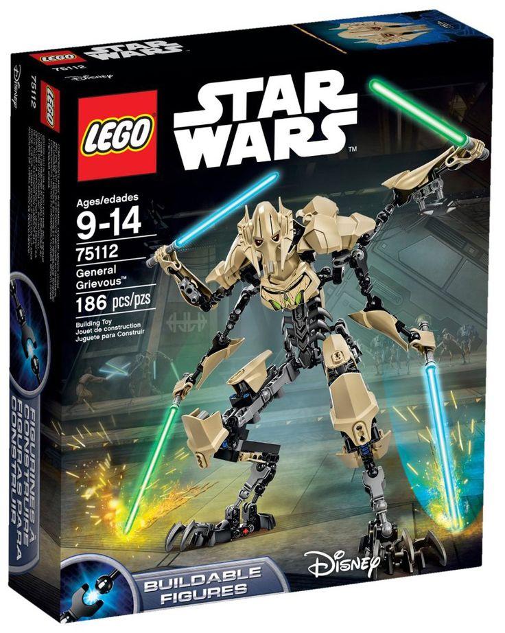 Comparez les prix du LEGO Star Wars 75112 Général Grievous avant de l'acheter ! Infos, description, images, vidéos et notices du LEGO 75112 Général Grievous sur Avenue de la brique