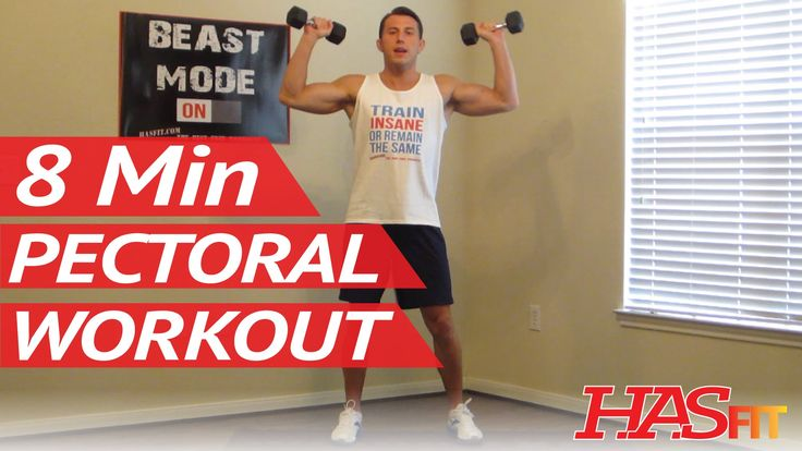 8 Minute Killer Chest Workout at Home - Chest Exercises Routine - Pectoral Workout - Chest Work Out - YouTube