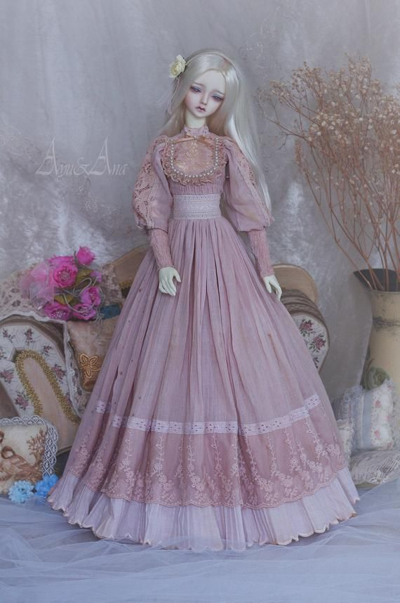 Dollfie dress ball jointed doll clothes SD doll fairy outfit BJD SD Dress Soom clothes Bjd long dress Bjd Doll SD13 clothes