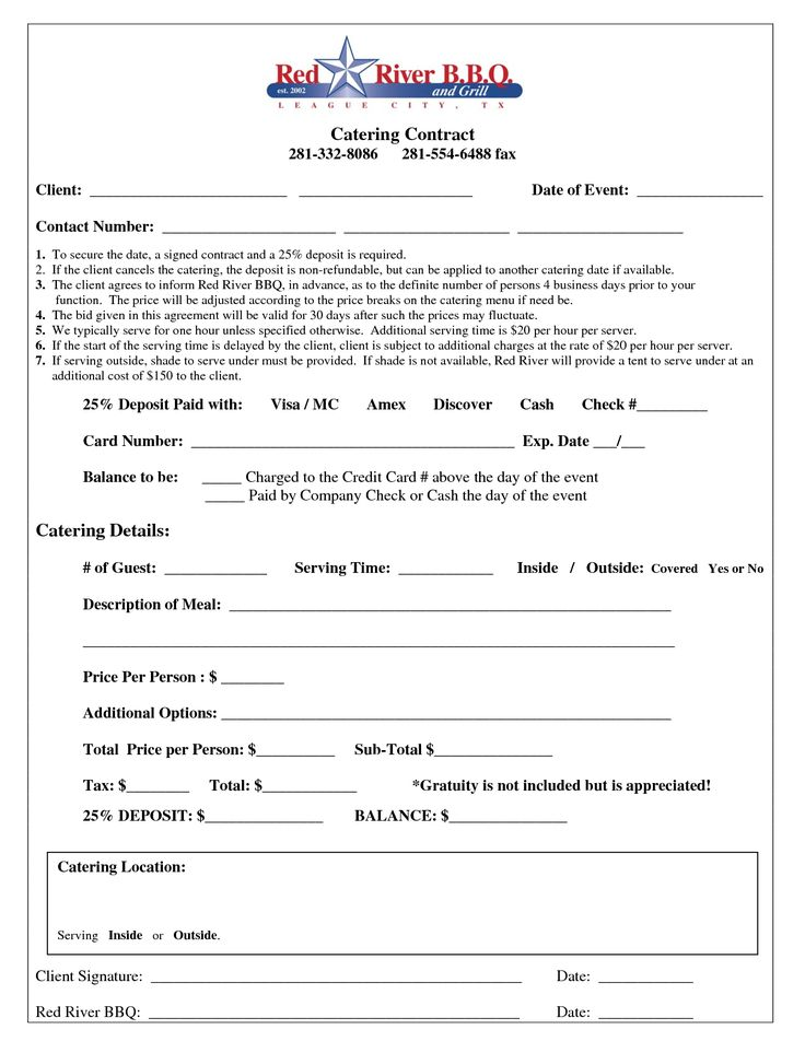 event coordinator contract sample sample wedding catering