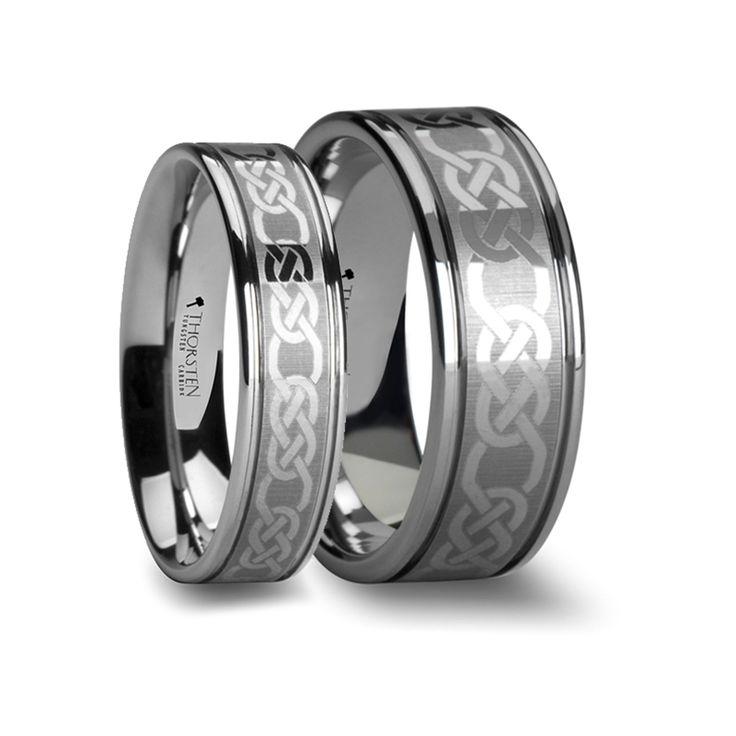 28++ Tungsten wedding band set matching information