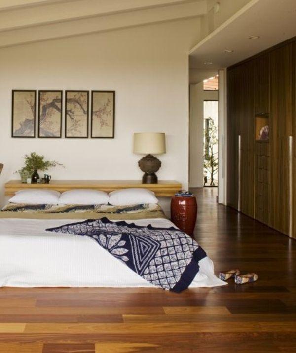 Feng Shui Schlafzimmer gestalten Tipps und Bilder Zen