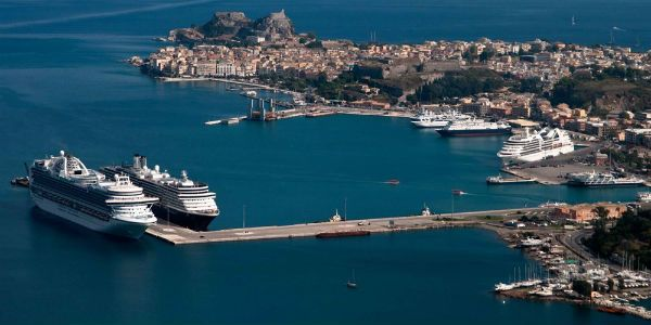Reflexões sobre a sombria situação que na Ilha de Corfu por causa da sua colonização econômica