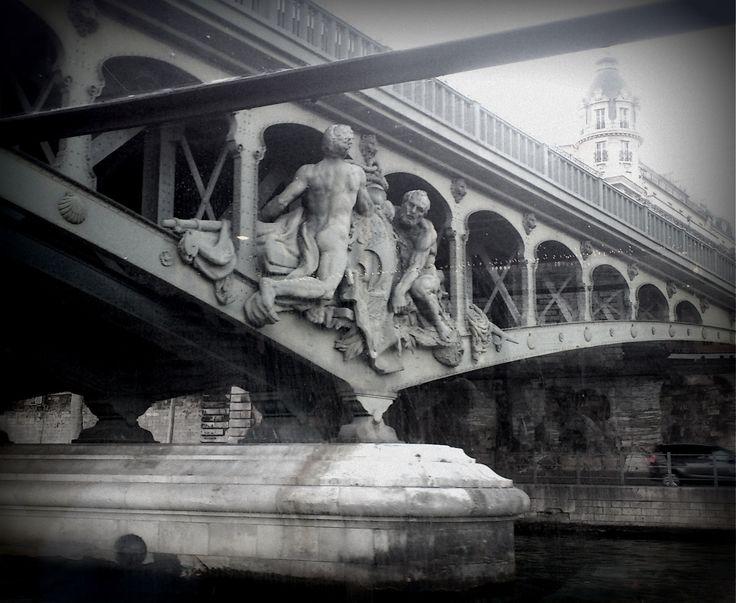 under the bridge in Paris by Mel Graham on 500px