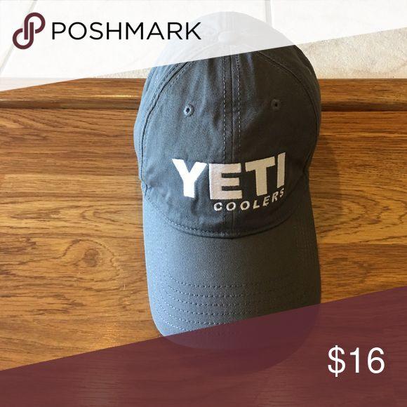 YETI CAP Adjustable YETI cap YETI Accessories Hats